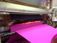 process flame laminating